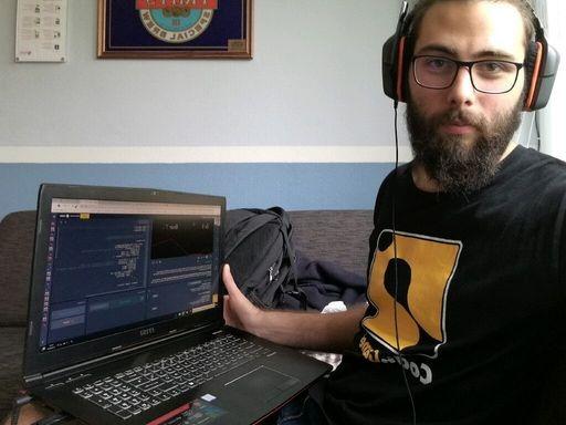 Former CodinGame tech intern Dimitri