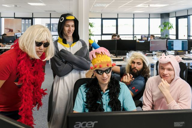 CodinGame's tech team