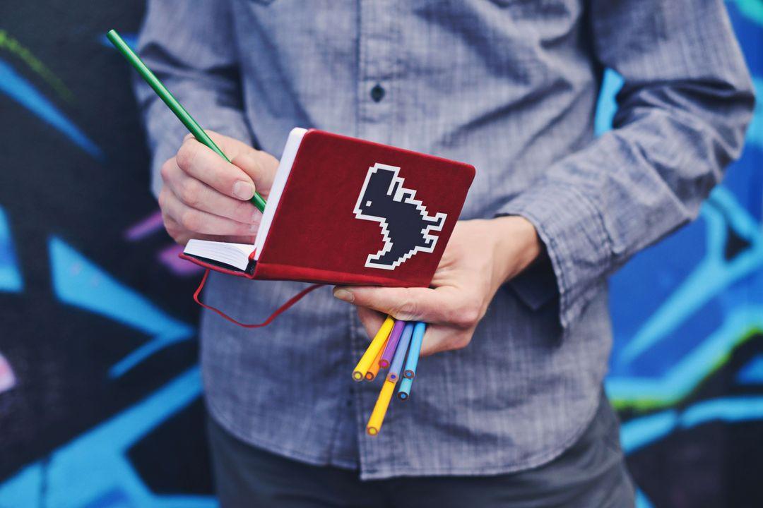 dino notebook