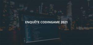 Visuel Enquête CodinGame 2021