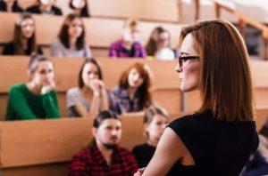 University Female Teacher